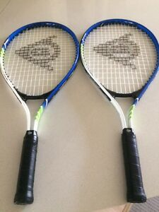 Tennis rackets Dunlop x2 Burleigh Waters Gold Coast South Preview