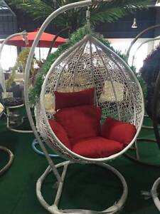 EGG SWING CHAIR DROP SHAPE WHITE COLOR Ravenhall Melton Area Preview