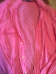 Ralph Lauren linen pink shirt M Liverpool Liverpool Area Preview