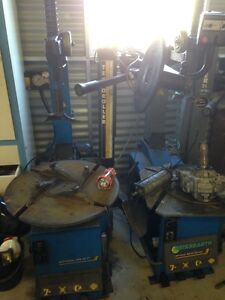 2 3phase tyre machines one good one for parts! Warwick Southern Downs Preview