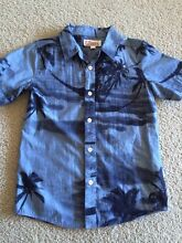 Boy's size 12 palm tree design shirt Hornsby Hornsby Area Preview