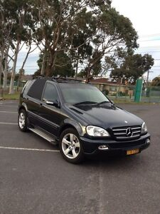 02 Mercedes ml320 luxury 7 seats Bentleigh East Glen Eira Area Preview