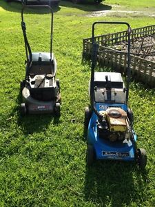 2 older style lawn mower Casterton Glenelg Area Preview