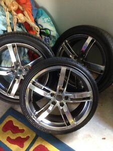 """3x19"""" commodore rims good for trailer or spares Budgewoi Wyong Area Preview"""