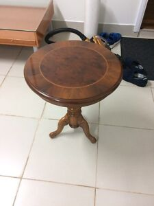 WOODEN SIDE TABLE Middleton Grange Liverpool Area Preview