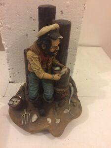 Antique fishman stone ornament Charlestown Lake Macquarie Area Preview