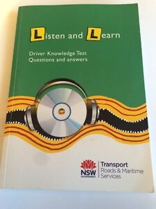 Misc books - driving test questions, science book and exam book Springfield Gosford Area Preview