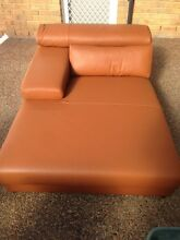 NEW SAPORINI GENUINE LEATHER LOUNGE CHAISE Merrylands Parramatta Area Preview