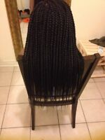 3 to 4 hours Professional Single Braids.Twists,Cornrows,Weave.