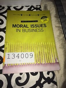 Moral Issues in Business Caringbah Sutherland Area Preview