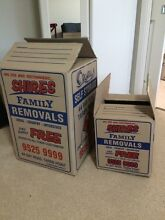 Moving boxes / cartons Pendle Hill Parramatta Area Preview