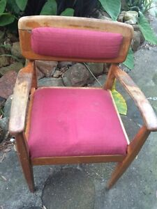 Handmade vintage lone chair Charlestown Lake Macquarie Area Preview