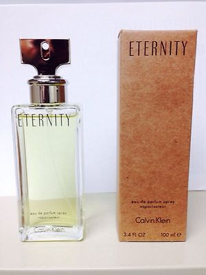 ETERNITY * CK Calvin Klein * Perfume for Women * EDP * 3.4 oz * BRAND NEW TESTER