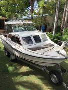 21ft PRIDE PRESIDENT BOW RIDER/HALF CABIN BOAT Deception Bay Caboolture Area Preview
