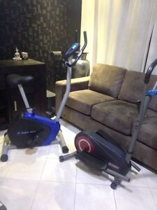 exercise / spin bike + mini elliptical Darch Wanneroo Area Preview