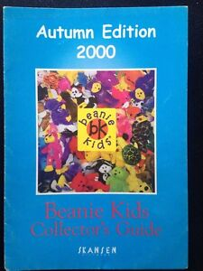 RARE Beanie Kids Collector Guide Autumn 2000 Norwood Launceston Area Preview