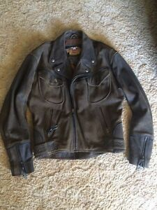 Harley Davidson - billings rough leather jacket Newcastle Newcastle Area Preview