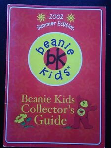 RARE Beanie Kids Collector Guide Summer 2002 Norwood Launceston Area Preview