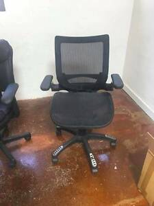 Office Chairs Heavily discounted Collingwood Yarra Area Preview