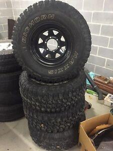 Toyota hilux wheels muddys Ashfield Ashfield Area Preview