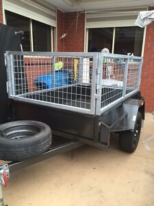 HIRE A CAGED TRAILER $45 Sunshine Brimbank Area Preview