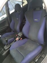 EVO 6 Recaro Seats - Front and Back Complete Interior Burwood Burwood Area Preview