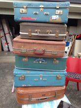Retro/Vintage suitcases Springfield Lakes Ipswich City Preview