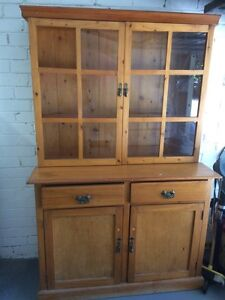 Solid wood cupboard Narrabeen Manly Area Preview