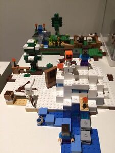 Mine craft Lego Carlton Melbourne City Preview