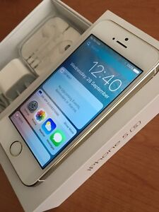 iPhone 5S 16gb Gold - Unlocked- iOS10- Near New Canning Vale Canning Area Preview
