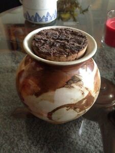Beautiful pottery bark imitating  pot Rockdale Rockdale Area Preview