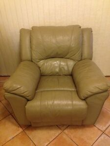 Two leather recliner chairs Leederville Vincent Area Preview