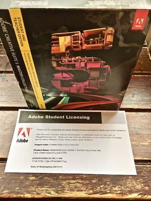 ADOBE Creative Suite CS5 MASTER COLLECTION for WINDOWS - 2x Activations