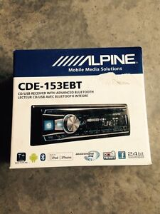 Alpine CD player... Largs Maitland Area Preview