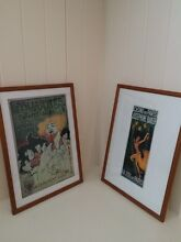 Set of vintage Paris prints in new frames Greenwich Lane Cove Area Preview