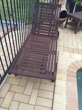 Sun loungers deck chairs two bargain Moorebank Liverpool Area Preview