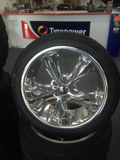 """Brand newb18"""" Foose Legend wheels & Tyres Ford Falcon Mustang Fairlane"""