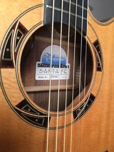 Takamine Santa Fe TSF48C Pro series - as new + embossed  case Greenwith Tea Tree Gully Area Preview
