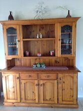 Solid pine buffet and hutch Samford Valley Brisbane North West Preview