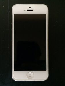 iPhone 5 16Gb White Sydney City Inner Sydney Preview