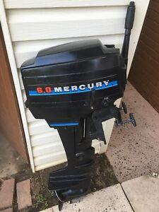 Boat motor 6hp Mercury Busby Liverpool Area Preview