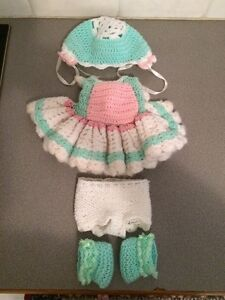 Gorgeous Knitted Doll's Outfit for Sale Warnbro Rockingham Area Preview