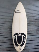 Trigger brothers (ken reimers shaped) round tail surfboard Mount Martha Mornington Peninsula Preview