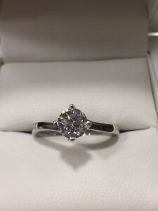 Round Brilliant Diamond Engagement Ring 0.71ct DVS1 GIA Certified Newcastle East Newcastle Area Preview