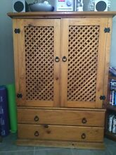 Wood cabinet Burpengary Caboolture Area Preview