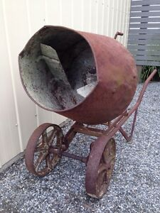 Antique Cement Mixer Drouin Baw Baw Area Preview