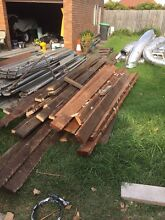 Free wood and metal. Haberfield Ashfield Area Preview