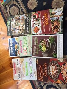 Assorted cook books. Highbury Tea Tree Gully Area Preview