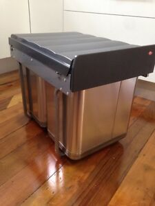 BRAND NEW under sink hand pull rubbish/ recycling bin (40L) by Wesco Roseville Ku-ring-gai Area Preview