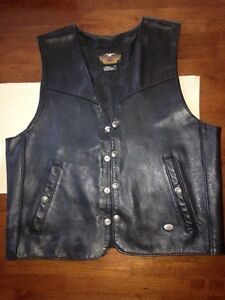 Genuine Harley leather vest Kingscliff Tweed Heads Area Preview